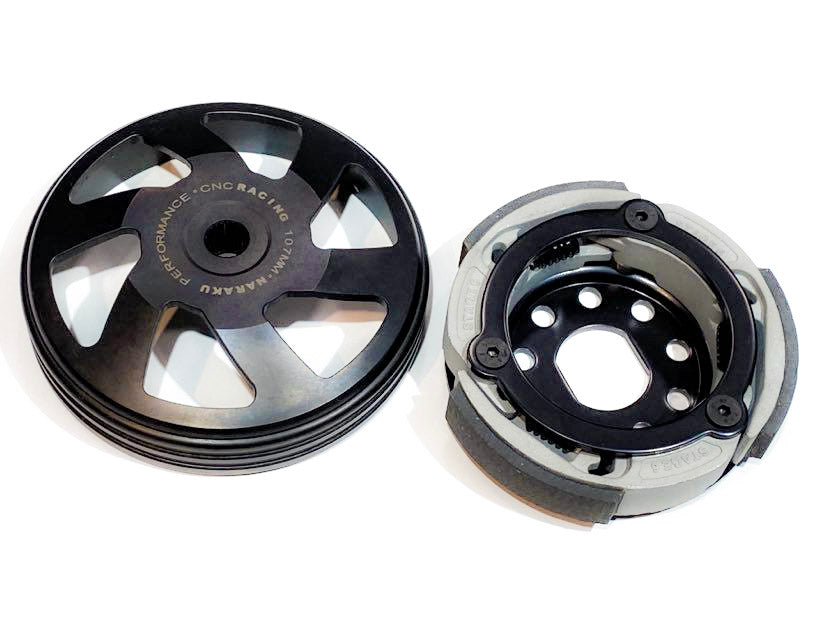 Performance scooter clutch