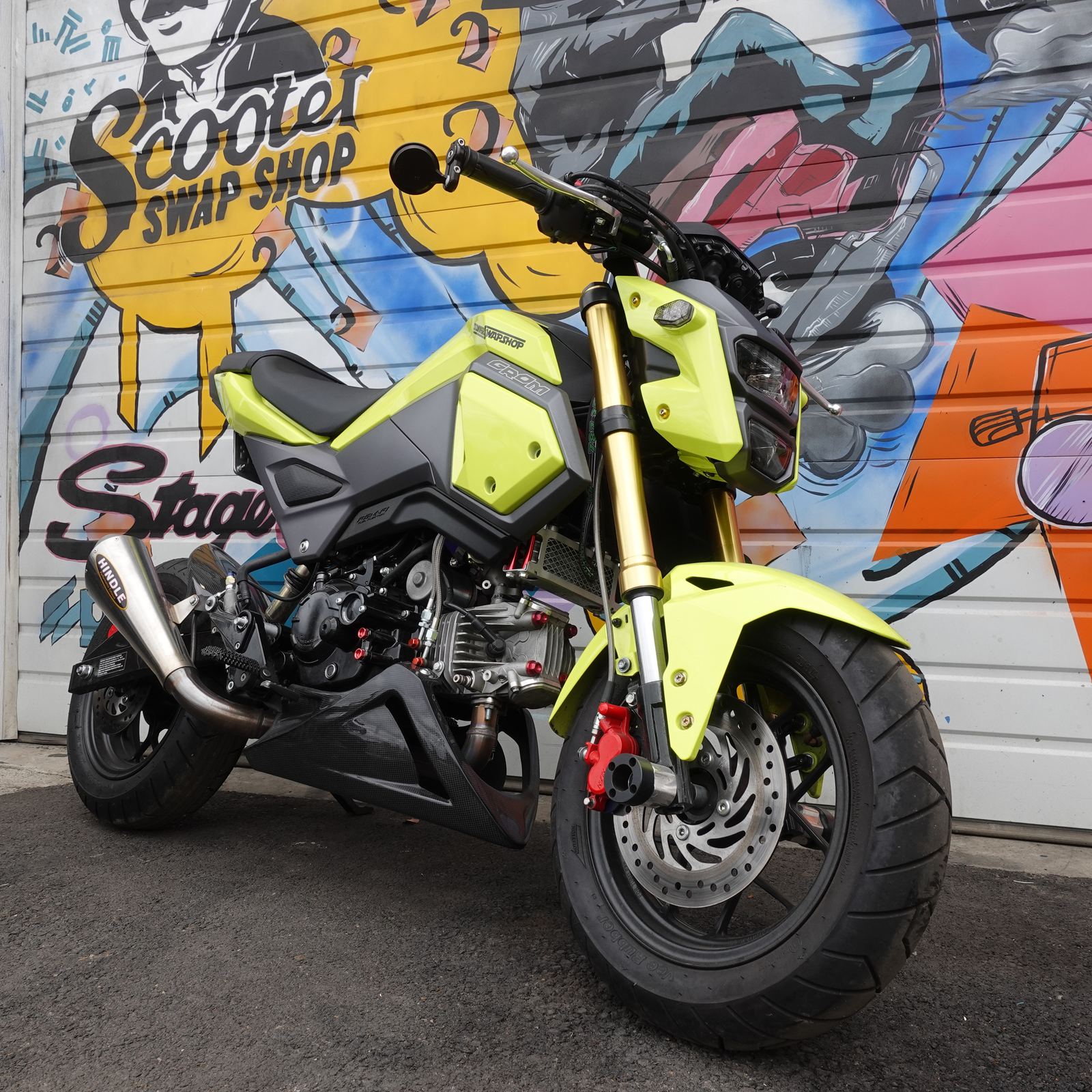 Honda Grom Aftermarket Parts From The Scooterswapshop