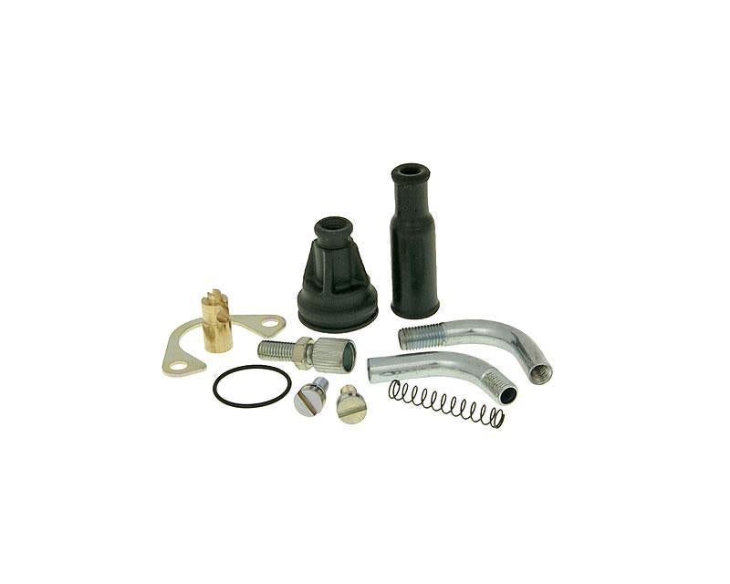 Dellorto Cable Choke Conversion Kit - ScooterSwapShop