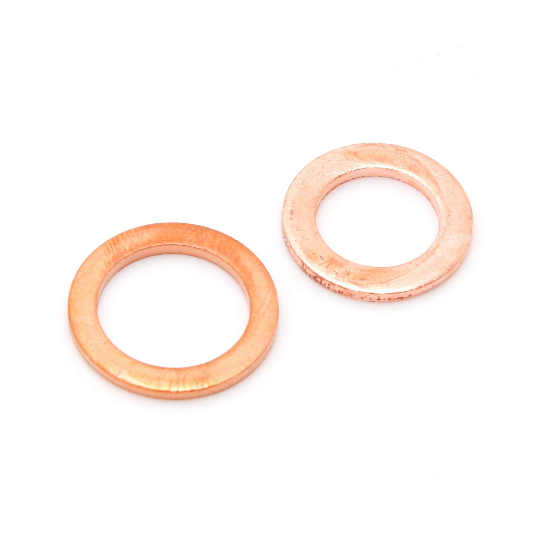 Copper banjo washers