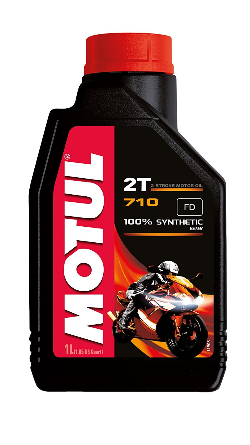 Motul 710 Synthetic 2t Oil 1L - ScooterSwapShop