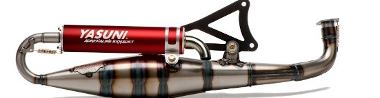 "Yasuni Exhaust ""C16"" For Yamaha Zuma '02-'11 and Jog"