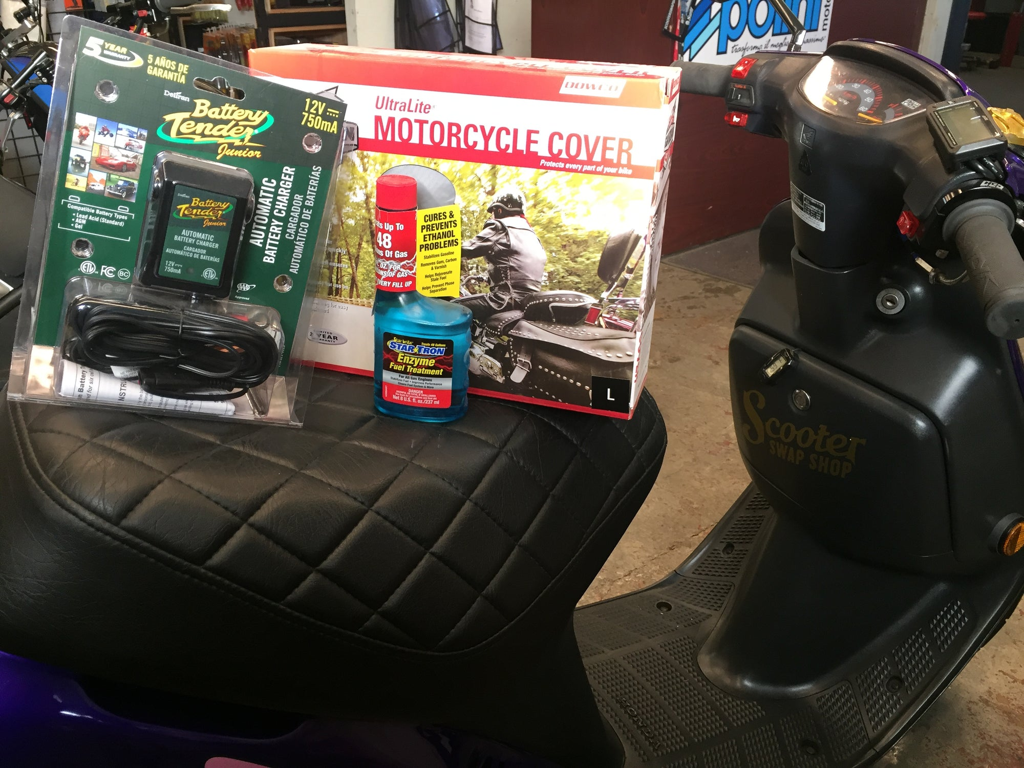 SSS Scooter Winterization Kit - ScooterSwapShop