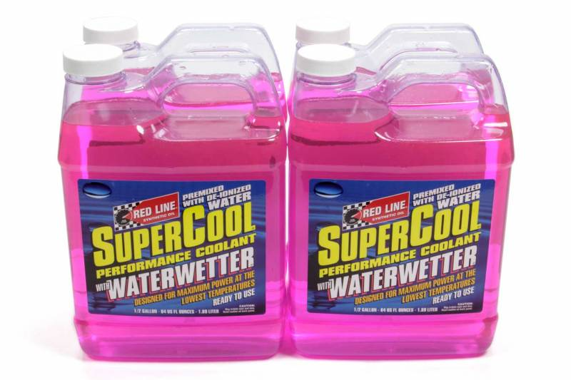 "RedLine Supercool ""Water Wetter"" Racing Coolant 64oz - ScooterSwapShop"