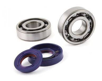 Polini Crankshaft Bearings + Oil Seals ZUMA - ScooterSwapShop