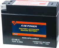 "WPS ""Fire Power"" Batteries"