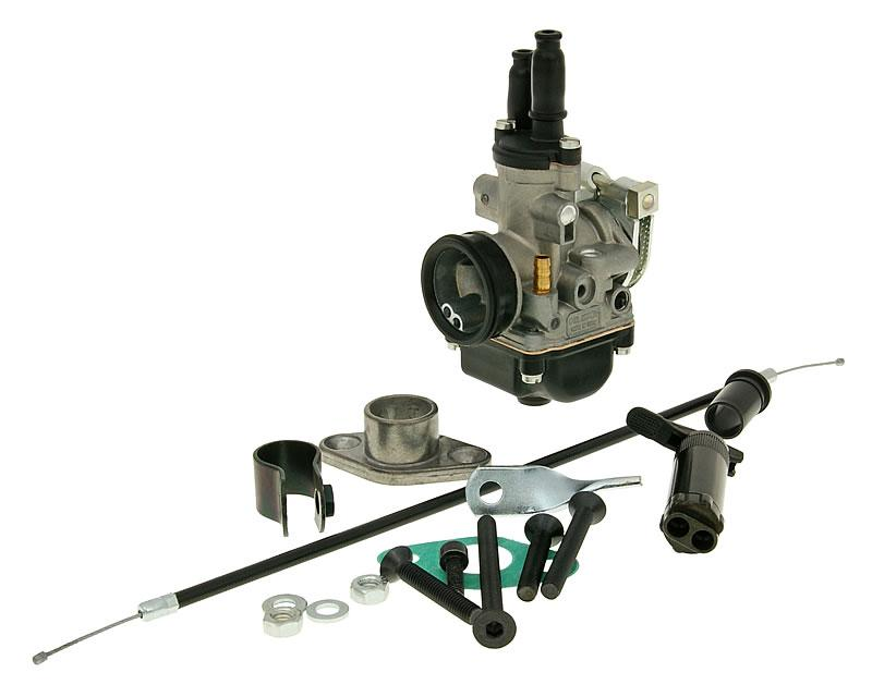 19mm Dellorto Carb Kit For Stock Manifold - ScooterSwapShop