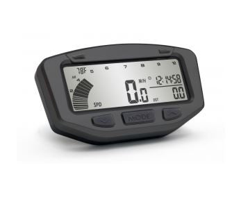 Trailtech Vapor Gauge LCD Backlit Speedometer Odometer with Extension - ScooterSwapShop