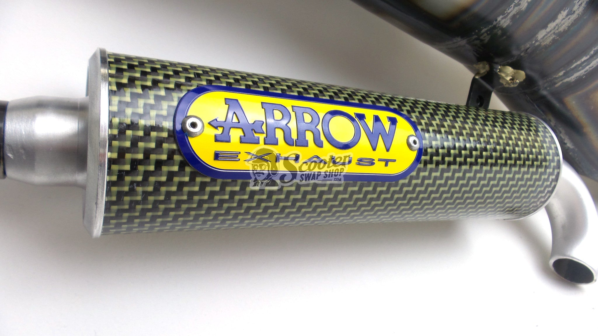 Arrow Exhaust For Honda Elite '94+ and Dio - ScooterSwapShop
