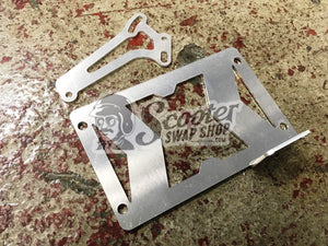 License Plate Brackets for Zuma, Dio - ScooterSwapShop