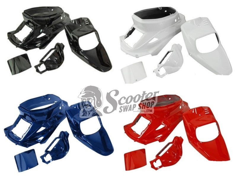 Prebug Fairing Panel Kit For '89-'01 Yamaha Zuma 6 Colors - ScooterSwapShop