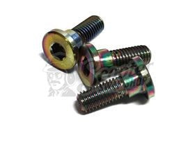 NCY Electroplated Rotor Bolts - ScooterSwapShop
