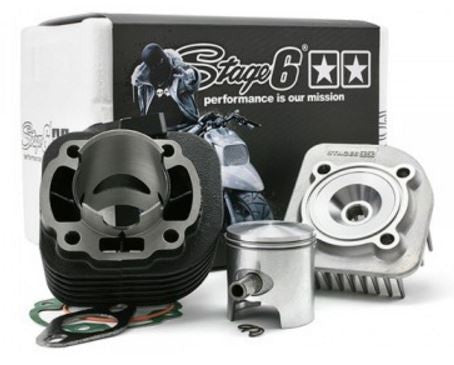 "Stage6 Cylinder Kit ""StreetRace"" 70cc cast iron - ScooterSwapShop"