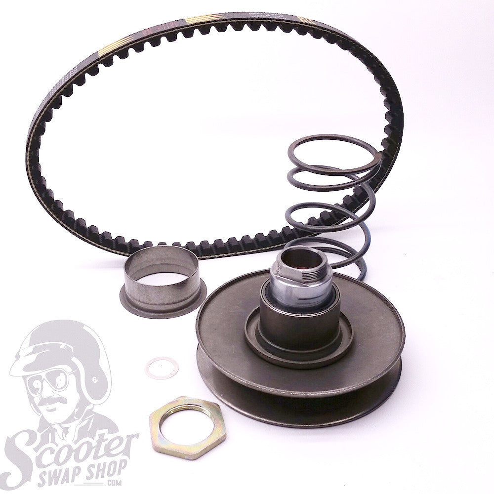 DIO ZX Transmission Swap Kit For 1994-2002 Honda Elite - ScooterSwapShop