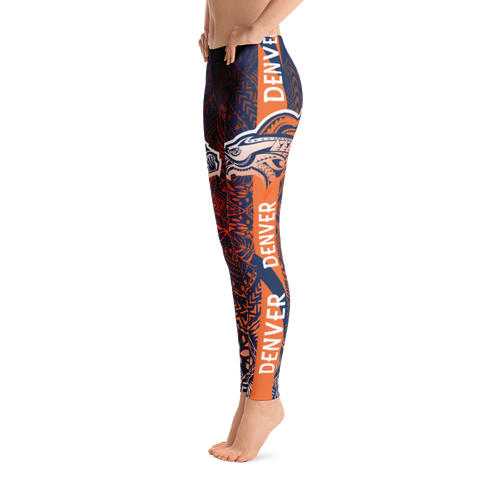 Tribal Tattoo NFL Leggings | HamoPride