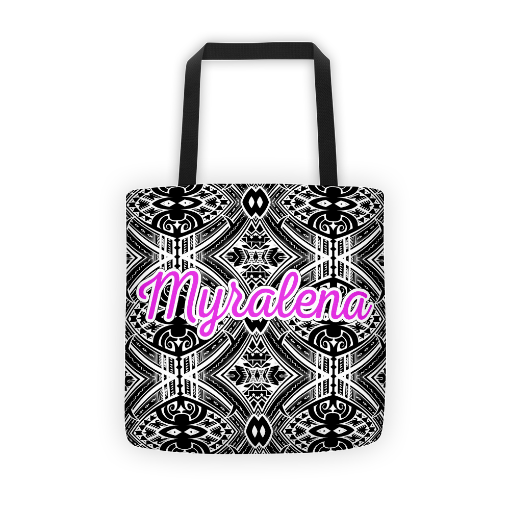 Sublimated Tribal Tattoo Tote Bag - HamoPride