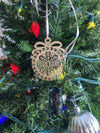 Personalized wooden Christmas Ornament with your name - Myralena