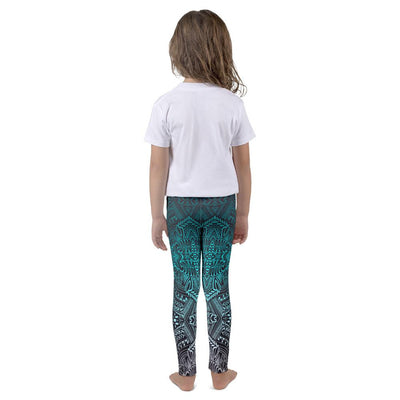 Kid's Hanau Tattoo Leggings (Neon) - HamoPride