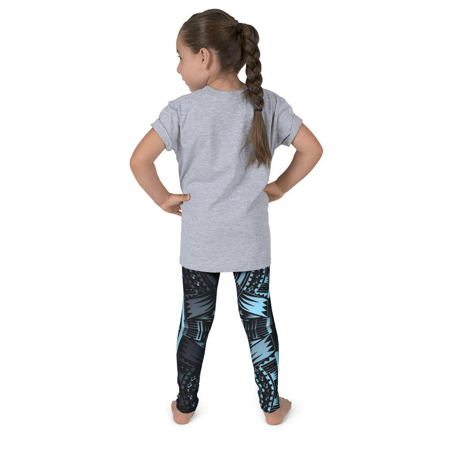 Kid's Tefiti Tribal Tattoo Legging