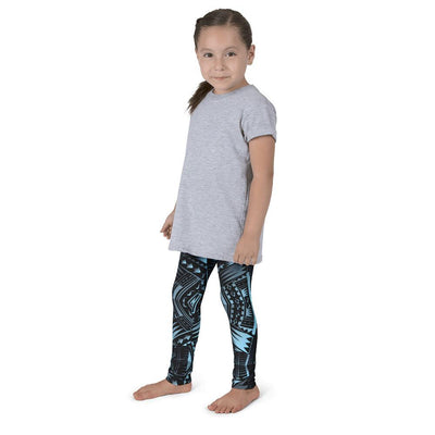 Kid's Tefiti Tribal Tattoo Legging - HamoPride