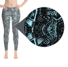 Tefiti Tribal Tattoo Legging Artwork - Myralena