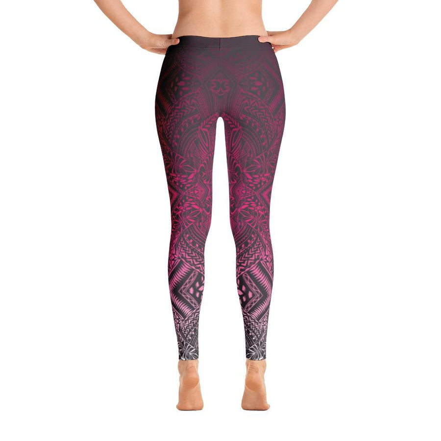 Hanau Tattoo Leggings (Metallic) - HamoPride