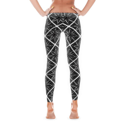 Leggings - Hoakalei Tribal Hawaiian Leggings