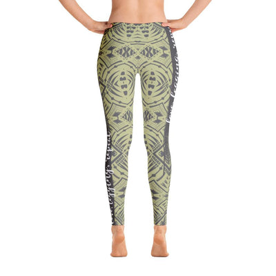Tribal Tattoo Love Legging Repeat - HamoPride