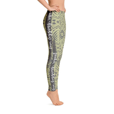 Leggings - Tribal Tattoo Love Legging Repeat