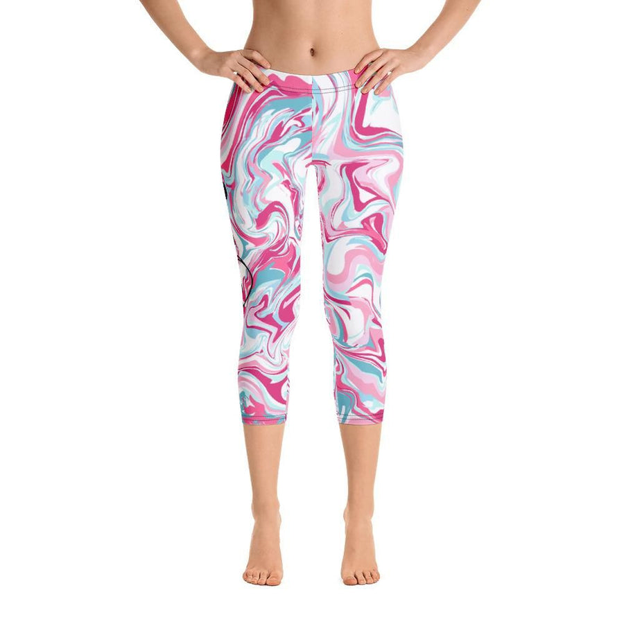 i Love Yoga Capri Leggings