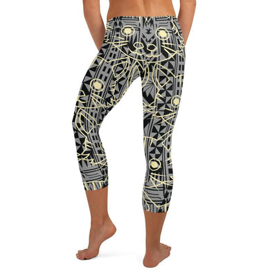 Tribal Kittie Tattoo Legging - HamoPride