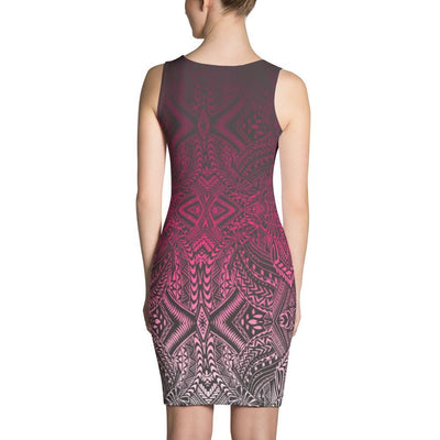 Hanau Tattoo Dress (Metallic) - HamoPride