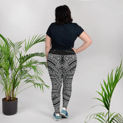 Tribal Moana Plus Size Legging - HamoPride