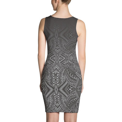 Hanau Tribal Tattoo Dress - HamoPride