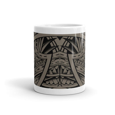 "Mug - ""Tribal Tattoo Manu"" - HamoPride"