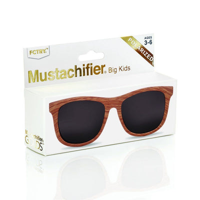 Polarized Baby Sunglasses - Wood - HamoPride