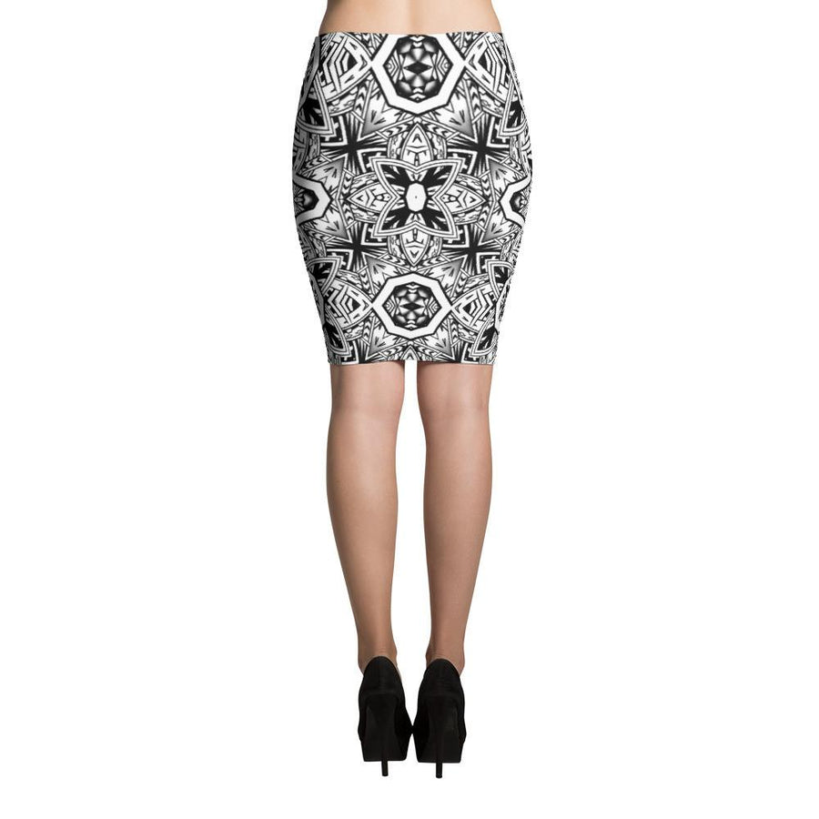 Hamo Tatau Tribal Tattoo Skirts (Black)