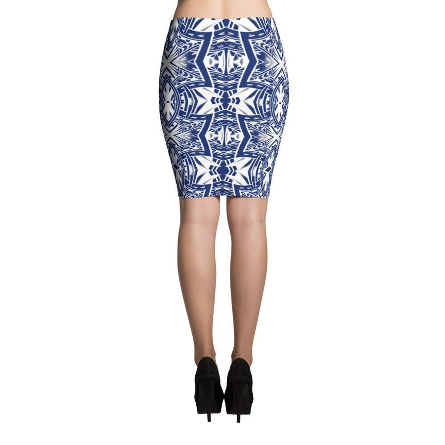 Hamo Tatau Tribal Tattoo Skirts (Blue)