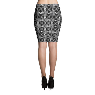 Hanalei Tribal Tattoo Skirts (Grey) - HamoPride