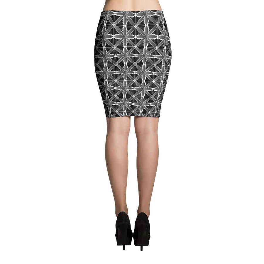 Hanalei Tribal Tattoo Skirts (Grey)