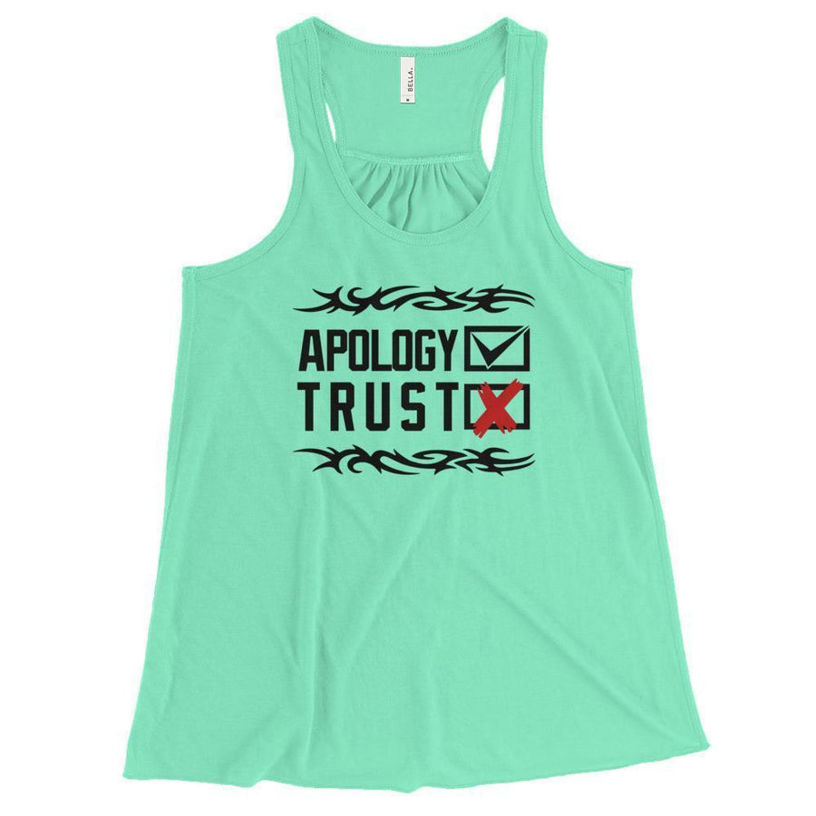 Apology Accepted, Trust Denied - Women's Tank Top