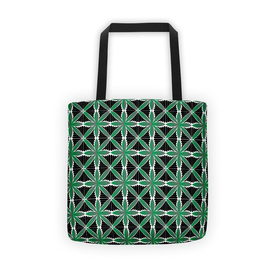 Hanalei Tribal Tote Bag (Green) - HamoPride