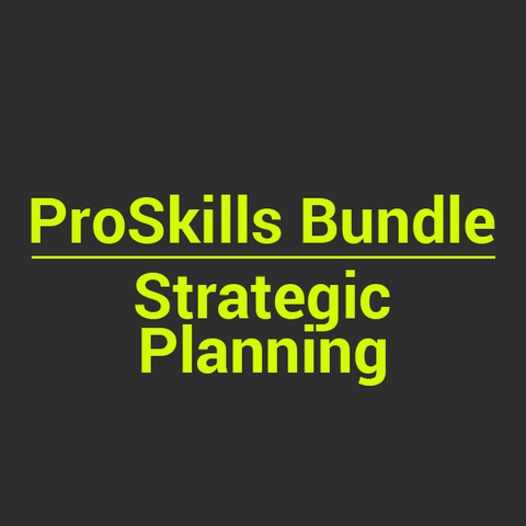 BUNDLE: Strategic Planning