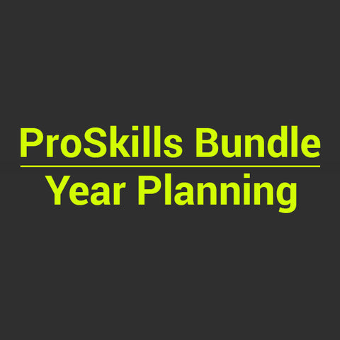 BUNDLE: Year Planning