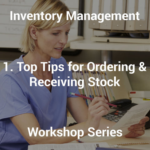 1. Top Tips for Ordering & Receiving Stock