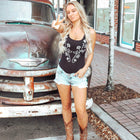 Whiskey Riff Western Embroidered Women's Bodysuit
