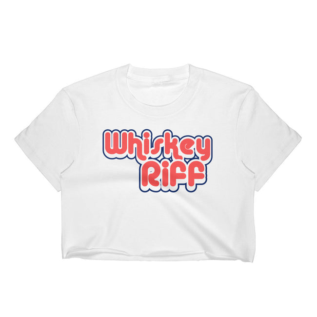 Whiskey Riff 70's Crop Top Tee