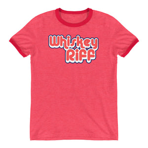 Whiskey Riff 70's Ringer T-Shirt