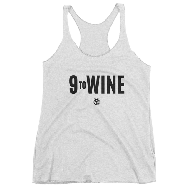 Nine to Wine Womens Tank Top