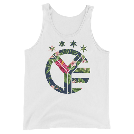 Floral Whiskey Riff Symbol Tank Top